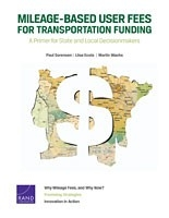 Cover: Mileage-Based User Fees for Transportation Funding