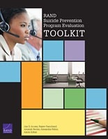 Cover: RAND Suicide Prevention Program Evaluation Toolkit