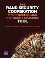 Cover: The RAND Security Cooperation Prioritization and Propensity Matching Tool