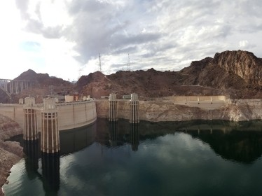 The Hoover Dam on the Colorado River on the border of Arizona and Nevada, photo by stryjek / Adobe Stock