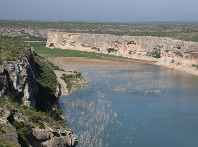 The Pecos River Canyon in Texas. Photo by artiste9999 / Getty Images
