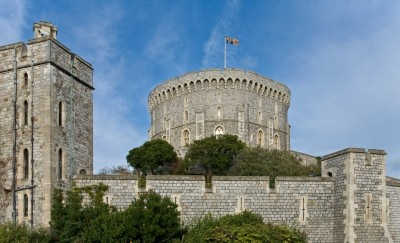 The Round Tower in Windsor Castle in Windsor, England