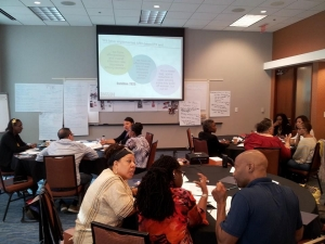 Photo of a Mapping Pathways workshop