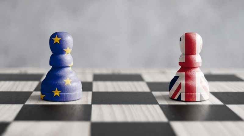 Brexit strategy concept with pawns, photo by Pixelbliss/Adobe Stock
