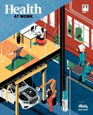 Health at Work FT supplement cover