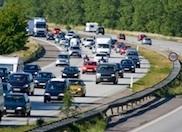 Rush hour traffic in Copenhagen