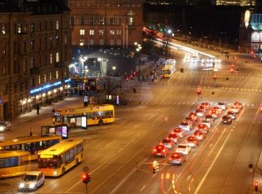 H.C. Andersens Boulevard - January Evening in Copenhagen