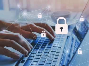 Internet security and data protection concept, photo by anyaberkut/Adobe Stock
