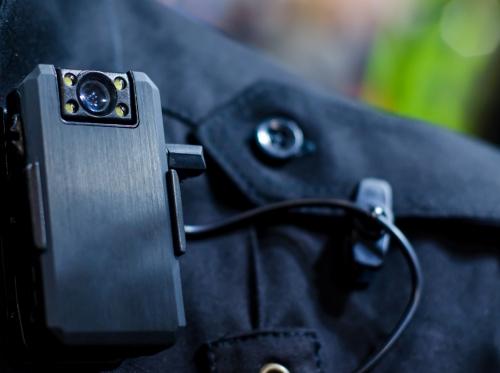 Close-up of police body camera, photo by Lutsenko Oleksandr/Adobe Stock