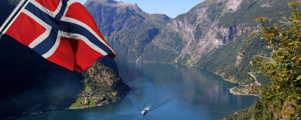 Geirangerfjord in Norway, a Unesco World Heritage site, photo by MyWorld/Adobe Stock