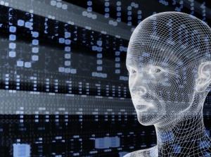 binary face future technology landscape