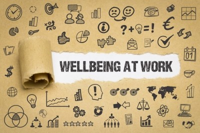 Illustration of wellbeing at work, photo by Gerhard Ledwinka/Adobe Stock