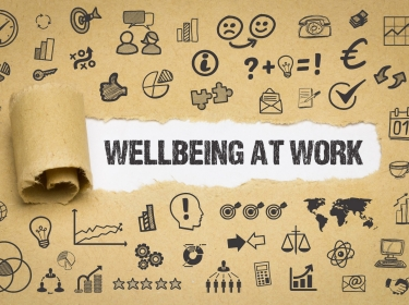 Illustration of wellbeing at work, photo by Gerhard Ledwinka/Adobe Stock