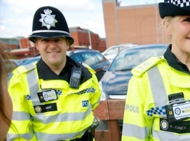 Body worn cameras are being trialed by officers in Wolverhampton and Birmingham