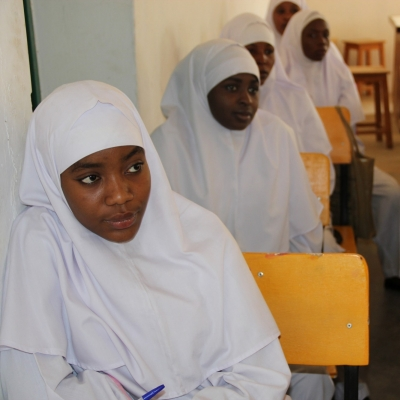 Class for Nigerian midwives
