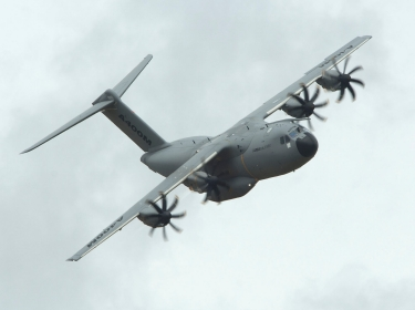 Airbus A400M transport aircraft