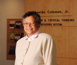 Lovida Coleman, Jr., an attorney, philanthropist, and RAND trustee