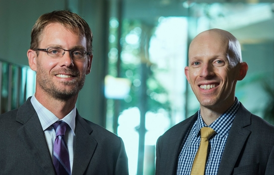 David Groves and Jordan Fischbach