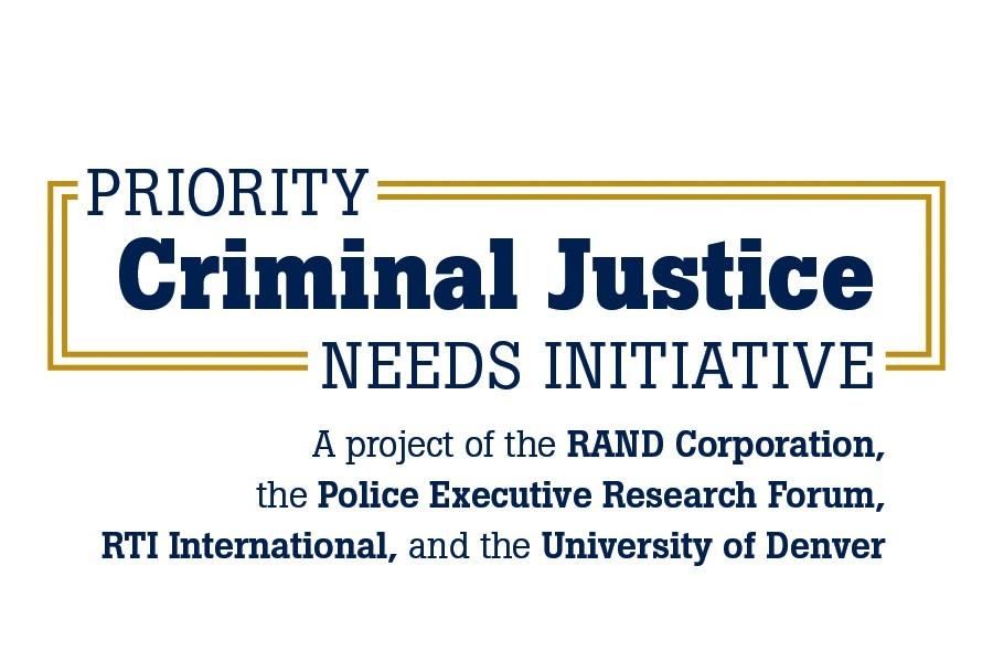 Priority Criminal Justice Needs Initiative logo