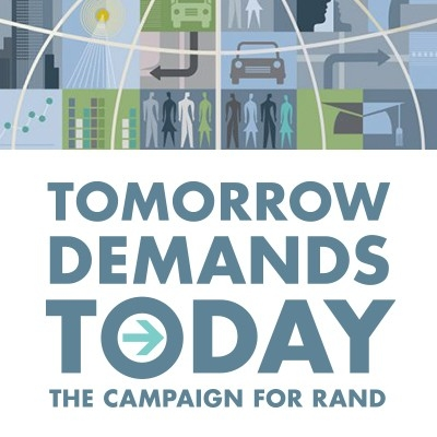 Logo for the Campaign for RAND: Tomorrow Demands Today