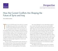 كيفية تشكيل الصراعات الحالية لمستقبل سوريا والعراق