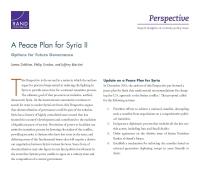 خطة سلام لسوريا - الجزء 2