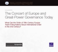 نظام دول الوفاق الأوروبي وحوكمة القوى العظمى اليوم