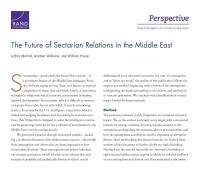 مستقبل العلاقات الطائفية في الشرق الأوسط