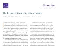 الوعد الذي تحمله المشاركة العلمية لمجتمع المواطنين