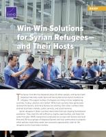 حلولٌ مُرْبِحَةٌ للطرفين: للاجئين السوريين — وللبلدان المُستَضيفة