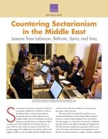 مكافحة الطائفيّة في الشرق الأوسط: عِبَرٌ من لبنان، والبحرين، وسوريا، والعراق