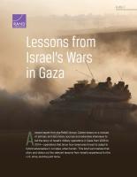 دروس من حروب إسرائيل في غزة