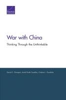 الحرب ضد الصين: التفكّر فيما لا يَتقبله العَقل