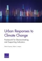 الاستجابات الحضرية لتغيّر المناخ: إطار عمل لصناعة القرار ومؤشرات داعمة