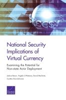 تداعيات العملة الافتراضية على الأمن القوميّ: البحث في إمكانية النشر من جهة فاعلة غير حكومية