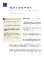 الدولة الإسلامية التي عرفناها