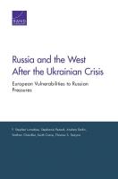 روسيا والغرب بعد الأزمة الأوكرانية