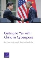 التوصل إلى اتفاق مع الصين بشأن الفضاء الإلكتروني