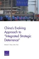 نهج الصين المتطور إزاء الردع الاستراتيجي المتكامل