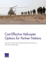 خيارات الطائرات المروحية فعالة التكلفة للدول الشريكة