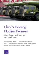 تطوير قوى الردع النووي في الصين الدوافع والقضايا الرئيسية بالنسبة إلى الولايات المتحدة الأمريكية