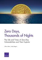 لا نهار وآلاف الليالي المظلمة: دورة حياة ثغرات يوم الصفر وبرمجيات إكسبلويت وأوقات ظهورها