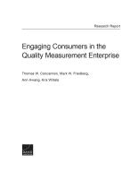 إشراك المستهلكين في مشروع قياس الجودة