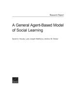 نموذج عام يستند إلى الأفراد الفاعلين حول التعلم الاجتماعي