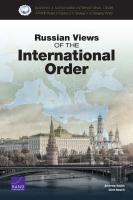 وجھات النظر الروسیة بشأن النظام الدولي