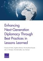 تعزيز دبلوماسية الجيل القادم عبر الممارسات الفضلى للدروس المستفادة