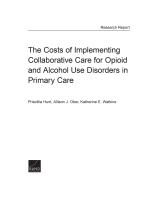 تكاليف تنفيذ الرعاية التعاونية لاضطرابات تعاطي المواد الأفيونية والكحولية في الرعاية الأولية