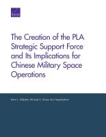 إنشاء قوات الدعم الاستراتيجي بجيش التحرير الشعبي الصيني وتداعياتها على العمليات الفضائية العسكرية الصينية