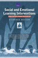 """تدخلات التعلم الاجتماعي والعاطفي بموجب قانون """"كل طالب ينجح"""" مراجعة الأدلة"""