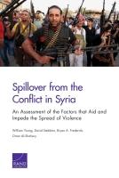 امتداد الصراع في سوريا: تقييم للعوامل التي تساعد وتمنع انتشار العنف